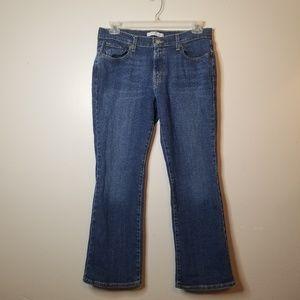 Levi's 515 Boot Cut Sz 12 Women's Jeans Dark Denim
